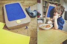We made a BIG mobile phone for Finni! It was easy, but maybe I will make a post on how to make it ;) | EyeEm
