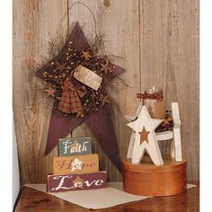 Country Sampler Magazine, Wood Ruffles and Lace Primitives, Primitive Decor, Home Decor, Hand made