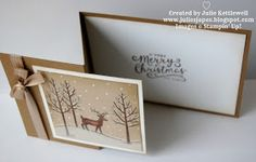 Good Morning blog readers and welcome to my blog today! You may be pleased to know that I have finished with the Woodland folder projects f...