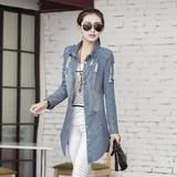 Hitz Women Slim Long sleeved denim jacket Fashion sexy clothing – SilkRoads Online
