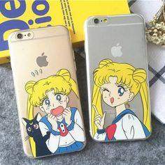 Kawaii cartoon phone shell