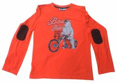 NKY Brand Red Grey Colour Full Sleeve Boys T Shirt www.clothing-deck.com