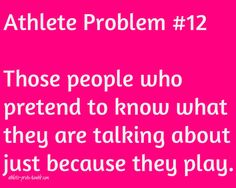 athlete problems | Tumblr