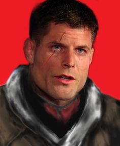 Realistic BJ Blazkowicz from Wolfenstein. Follow me @kuuzuri on Instagram for more content. Id Software, Wolfenstein, Fanart, Club, Content, Face, Inspiration, Fictional Characters, Instagram