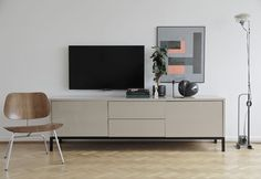 How to integrate a TV into your living room | Scandinavian Deko.