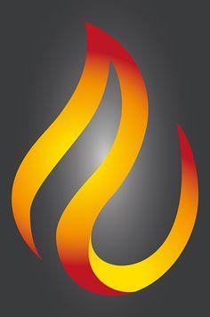 Flame, Fire, Vector, Logo, Design