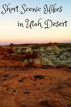 Short Scenic Hikes In Utah Desert