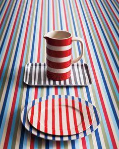 Photos of Home Decorating Ideas- Striped Interior Design Trends - ELLE DECOR