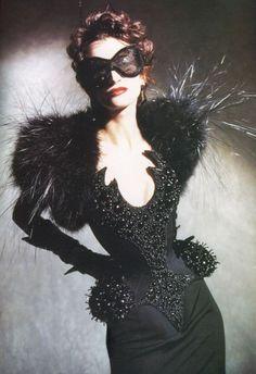 Inspiration - mmmmm spiders!!!  Thierry Mugler '97