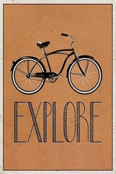 Explore Retro Bicycle Player Art Poster Print Transportation Poster - 61 x 91 cm Kunst Poster, Poster S, Poster Prints, Art Prints, Bike Poster, Retro Kunst, Retro Art, Retro Pics, Retro Bicycle