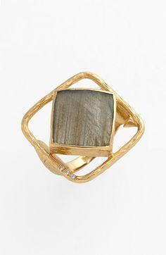 Melinda Maria 'Pyramid - Rosalind' Open Stone Ring | Nordstrom