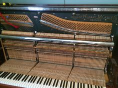 how to dismantle an upright piano