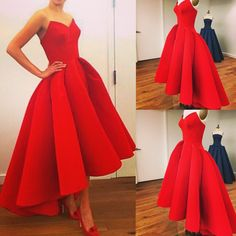 Cheap Appealing Prom Dresses Red Prom Dress,A-line Prom Dress,sweetheart Prom Dress,hi-lo Prom Dress,party Dress Prom Dresses For Teens, Gala Dresses, A Line Prom Dresses, Red Carpet Dresses, Wedding Party Dresses, Homecoming Dresses, Bridesmaid Dresses, Formal Dresses, Dress Party