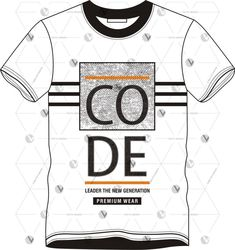 Free vector download Free T Shirt Design, Free Design, Shirt Designs, Mens Polo T Shirts, Vector Free Download, Custom T, Pattern Design, Vectors, Graphic Tees