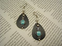 Gift Idea Valentine's Day Dangle Earring Earing by DesignsByMaral