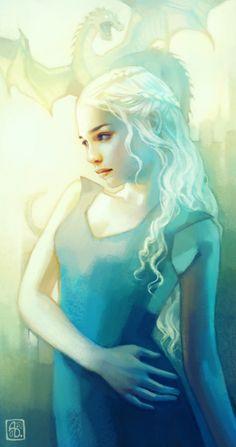 Khaleesi (Game of Thrones) by Anna Dittmann