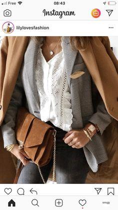 Caroliner Fashion Fashion Bag Tasche Handtasche Leder Leder Koch Leder Stil Jahre Liebesl … - Purses and bags - Look Fashion, Winter Fashion, Womens Fashion, Fashion Trends, Fashion Fashion, Fashion Ideas, Mode Outfits, Casual Outfits, Outfit Stile
