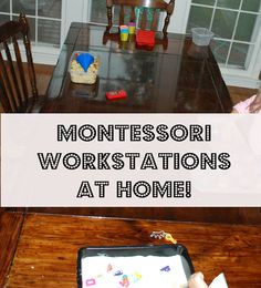 Keep the kids busy for hours with these Monesssori workstations you can do at home!