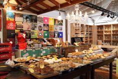 funky bakery shop