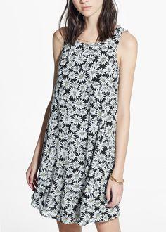 Kleid mit blumenmuster - Damen | MANGO