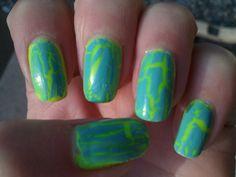 neon melon crackle
