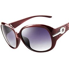 Polarisierte Sonnenbrille Damen-Mode Big Frame High-End-Sonnenbrille,PrintColor