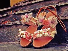 sandals#summer#ladystyle#handmade