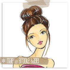 Fabulous Doodles-Brooke Hagel-Fashion Illustration Blog