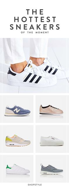 Your Chic Shopping Guide to the Hottest Sneakers of the Moment Cute Shoes, Me Too Shoes, Look Cool, Swagg, Fashion Boots, What To Wear, Shoe Boots, Stylish, My Style