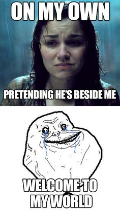 Forever Alone Eponine // Click for more Les Misérables Memes