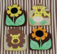 Sugary Flower: Lion Cookie