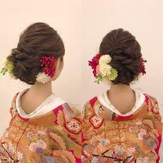 minoriさんはInstagramを利用しています:「#ヘアセット #ブライダル #ブライダルヘア #原宿」 Hair Arrange, Headdress, Wedding Hairstyles, Crochet Earrings, Hair Beauty, Hair Styles, Instagram, Weddings, Fashion