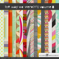 The Way We Were(n't) Vol.8 by Allison Pennington   50% off today ONLY!!