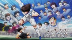 Images from Captain Tsubasa Episode 51 Stills and Synopsis Captain Tsubasa, Anime Guys, Manga Anime, Anime Art, Anime Episodes, New Twitter, Astro Boy, Anime Screenshots, Sword Art Online