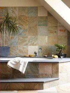 Earth-Tone Tile