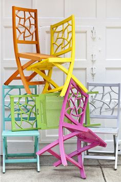 Fifi chairs by Society Social // WANT.