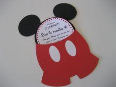 Mickey Invitations - Mickey Party .... FunCreationsByElaine on Etsy!