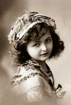 Vintage Photo. Probably grew up to have guys all over her