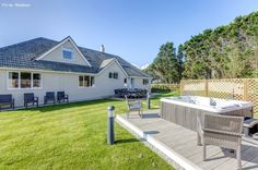 Cottage refurbished 12 berth cottage with private garden and outdoor hot tub Holidays In Cornwall, Holiday Park, Private Garden, Outdoor Gardens, Tub, Photo Galleries, Deck, Cottage, Patio