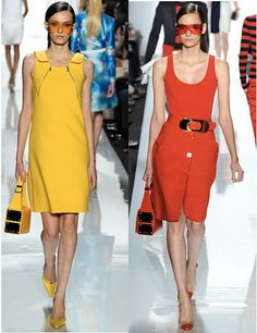 Michael Kors Spring 2013 Collection Review - Mod in the Mediterranean | Splash Magazines | Chicago