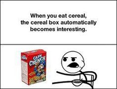 cereal box hehe