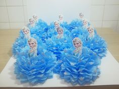 $14.00 Disney's Frozen Centerpieces for your next event. We deliver locally for free and Ship internationally as well. Please order 1-2 weeks before your event.