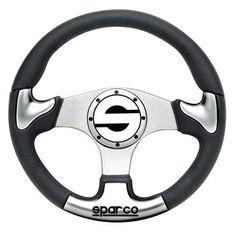 Sparco Steering Wheel - Tuner - P222 UNIVERSAL - Mueller Motorwerks LLC