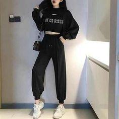 Korean Girl Fashion, Korean Fashion Trends, Ulzzang Fashion, Korea Fashion, Asian Fashion, Trendy Fashion, Dance Outfits, Girl Outfits, Cute Outfits