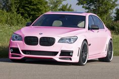 Pink BMW ☆ Girly Cars for Female Drivers! Love Pink Cars ♥ It's the dream car for every girl ALL THINGS PINK!
