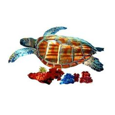 Next Innovations WA3DMSEATURTLE CB Sea Turtle Refraxions 3D Wall Art, Medium by Next Innovations. Save 17 Off!. $57.27. Made in usa. Brackets on the back that allow the product to hang away from the wall. Powder coated for rust resistance. Laser cut from 18 gauge steel. Measures 25? x 15?. Next Innovations Medium Sea Turtle Refraxions 3D Wall Art. Experience a whole new dimension in light reflective art. RefraXion pieces are laser cut from 18 gauge steel; powder coated for rust resistance…