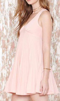 Blushing Dress