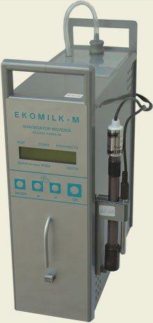 #Аналізатор_молока #Ekomilk-M (Екомілк-М) - це вдосконалена модель Ekomilk (Екомілк), відносно котрої даний прилад має перевагу у швидкості вимірювання, а саме - здатний проводити аналіз проби молока (молочного продукту) за 80 секунд.
