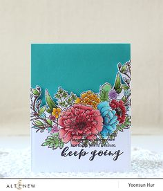 Happy Monday crafty friends! I hope you had a wonderful World Card Making Day last weekend. I'm up on the Altenew blog with my three floral cards using the newly released (and so gorgeous) Al…