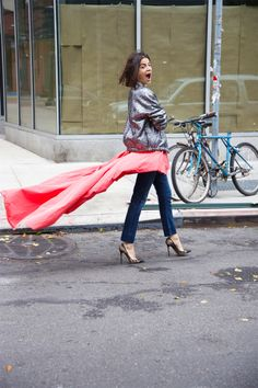 (Re)Imagining the Thakoon Tail - Man Repeller Girl Fashion, Fashion Looks, Leandra Medine, Man Repeller, Beautiful Outfits, Beautiful Clothes, Everyday Fashion, Bell Bottom Jeans, Preppy